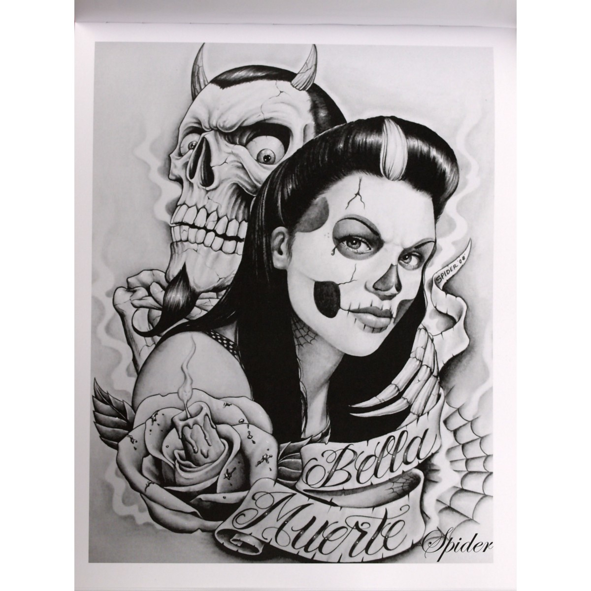 LOW RIDER Tattoo Flash Lowrider Arte Joker