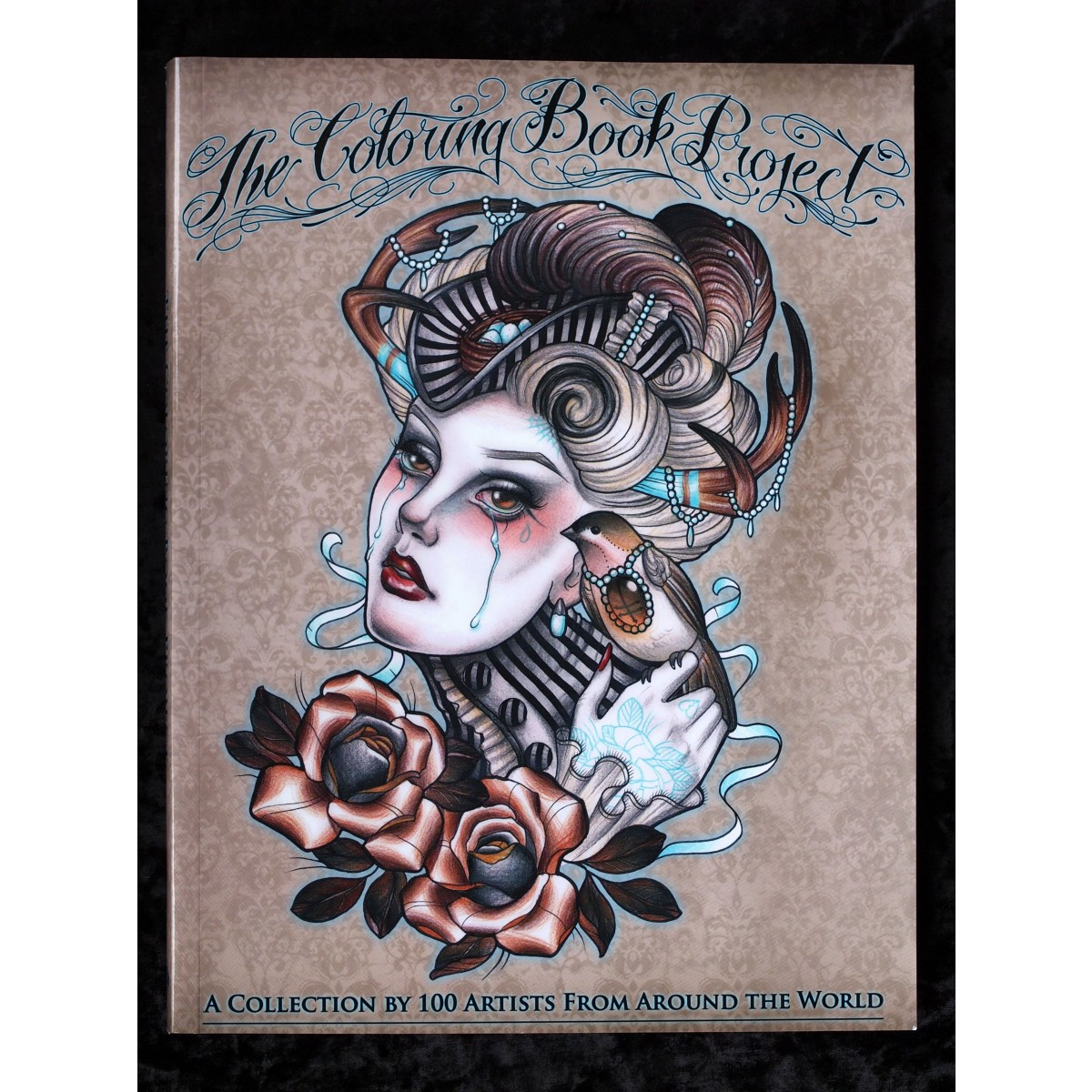 the coloring book project a collection by 100 artists from arounf