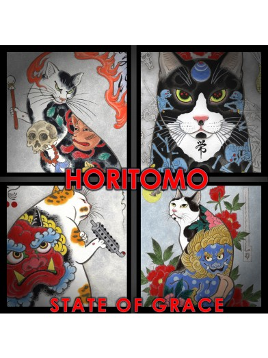 Horitomo's CAT PRINTS, set #2