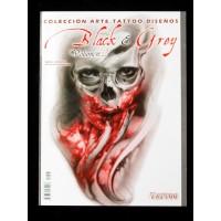 Libro - Black & Grey V2 by Revistaartetattoo