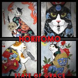 Horitomo's CAT PRINTS, set #2